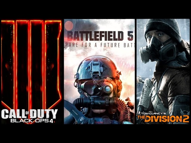 ИГРОНОВОСТИ - АНОНСЫ: BATTLEFIELD 5, CALL OF DUTY: BLACK OPS 4, THE DIVISION 2