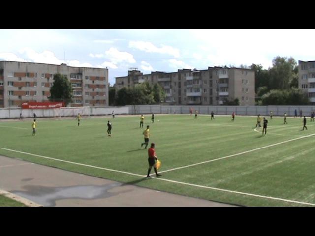 Академия Футбола (2000-2003) - Волжанин первый тайм (1:0) Исаев И.