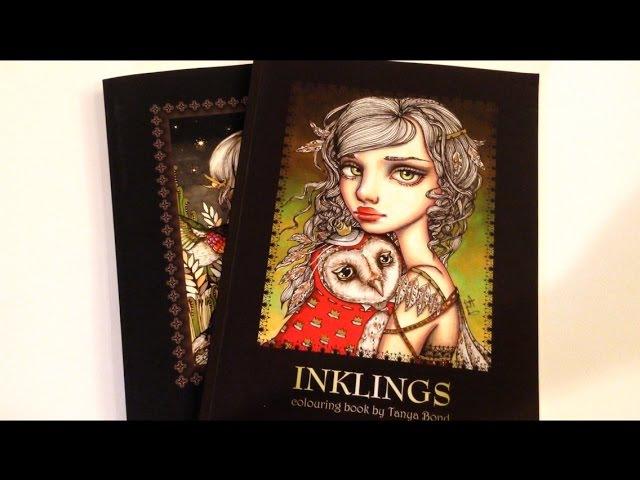 Листаем Inklings Coloring Book by Tanya Bond