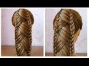 Tuto coiffure queue de cheval originale et simple 🌸 Coiffure avec tresse facile à faire