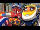Чаггингтон (Chuggington) - Спасатель Калли (НОВЫЙ СЕЗОН 5/ серия 1) - мультики про паровоз...