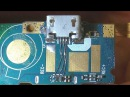 Замена разъёма microUSB с восстановлением дорожек Смартфон Fly FS405