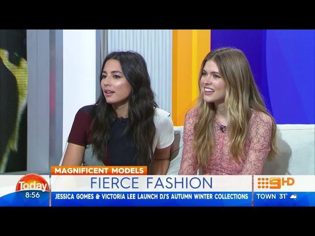 Australian Models Jessica Gomes and Victoria Lee (2018)