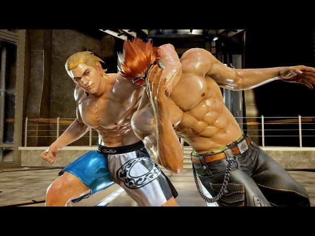 Tekken 7 Hwoarang Gut Punched Male Ryona