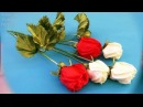 Preview:Privat rose/Vista previa:Privat de cintas/Приватный МК.Роза из лент.