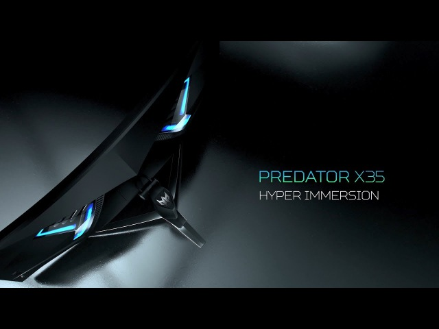 Acer   Predator X35 Curved HDR Gaming Monitor – Hyper Immersion