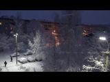 Вязники после сильного снегопада утром 21.11.17
