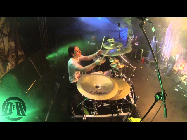 ABORTED @From a Tepid Whiff -Live at METALFEST 2013 (Drum Cam)