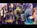 2017 New York Comic Con Sideshow Booth Tour Hot Toys NYCC Star Wars The Last Jedi Thor Ragnarok Figu