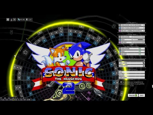 Warframe Mandachord Sonic The Hedgehog 2 Chemical Plant Zone