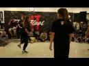 Hit The Floor vol.2 house-dance pro 1/4 Marieli(win) vs Moshka vs Staj