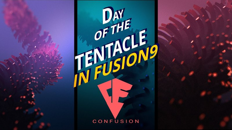 Fusion 9 - Day of the Tentacle ( Krokodove, VolumeFog, Volume Mask)