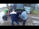 Как заменит калесо трактора мтз 82