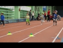 Челночный бег основная группа тренировка в манеже ДГТУ 11 02 2018