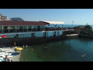 Отдых в Крыму у самого моря Алушта Утес Санта Барбара