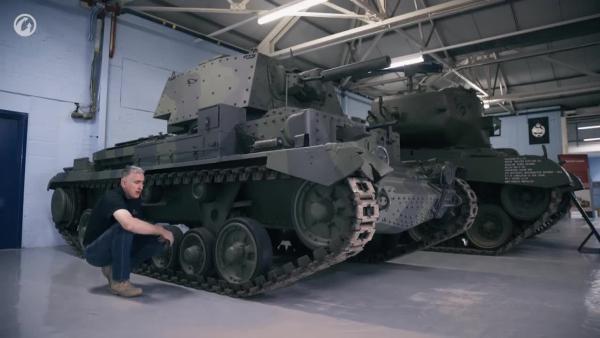 World of Tanks - Рассмотри Cruiser Mk. II. В командирской рубке. Часть 1
