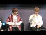 170922 Wanna One Singapore Fanmeet - Opening Ment Members Self Intro (Jinhwi Focus)