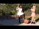 Kendall &amp Adriana - Bollbasting Вy Pink Dress