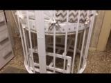Отзыв. Круглая кроватка трансформер. Малютка 21