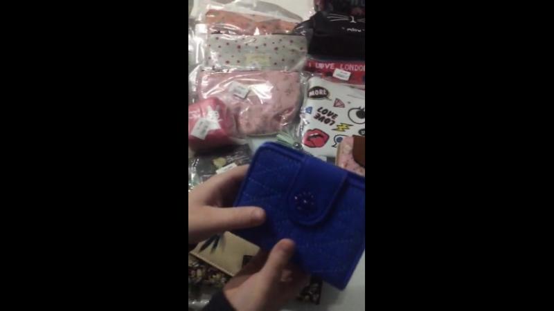 Обзор закупки Ми-ми-мишные кошелечки