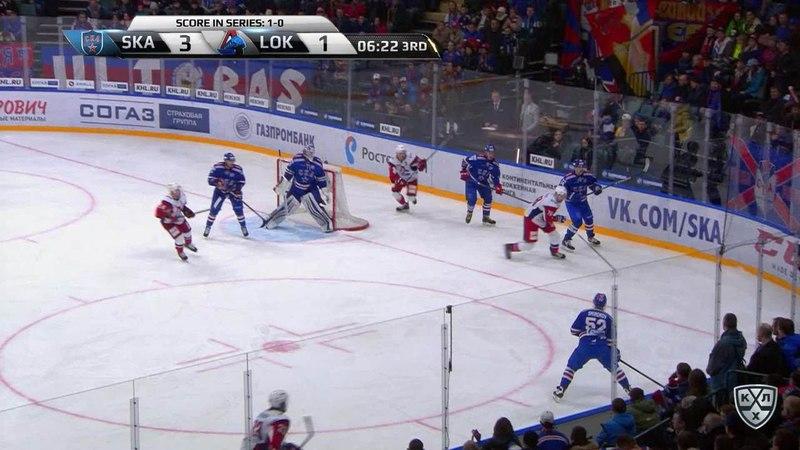 Моменты из матчей КХЛ сезона 17/18 • Гол. 4:1. Плотников Сергей (СКА) один в один реализовал 25.03