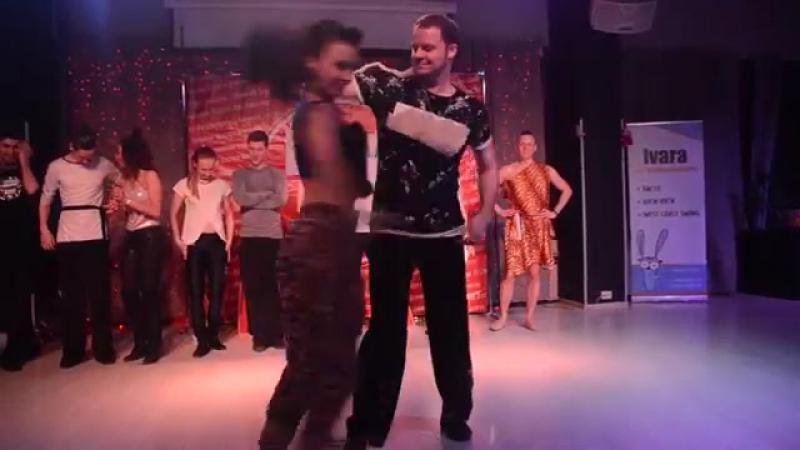 Strictly первобытные танцы Ураган 2018 Яся и СурНяша