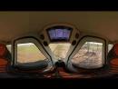 Видео с углом обзора 360° - подвижной состав SkyWay.