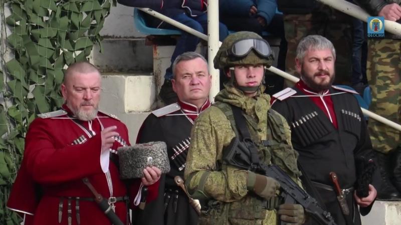 02.12.2017 Крым, Феодосия - Десантно-штурмовой батальон ВДВ России