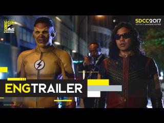 ENG | Трейлер: «Флэш» - 4 сезон / «The Flash» - 3 season, 2017 | SDCC 2017