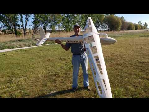 Focke-Wulf DFS Weihe 50 -Vintage Glider R.C - CNC - BAUTEILE - Construction, in Images.