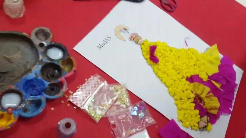 В процесі.. майстер-клас Маленький дизайнер. Виготовляємо 3D-ескізи модного вечірнього одягу💎✌😇 ❤Школа творчості МодАС CREATI