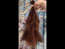 Волосы в наличии 40 см Белая лиса