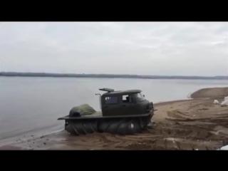 В России возрождается производство снегоболтоходов