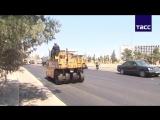 Из Дамаска в Хомс по новой трассе