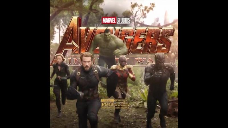 See Marvel Studio's Avengers InfinityWar in five days