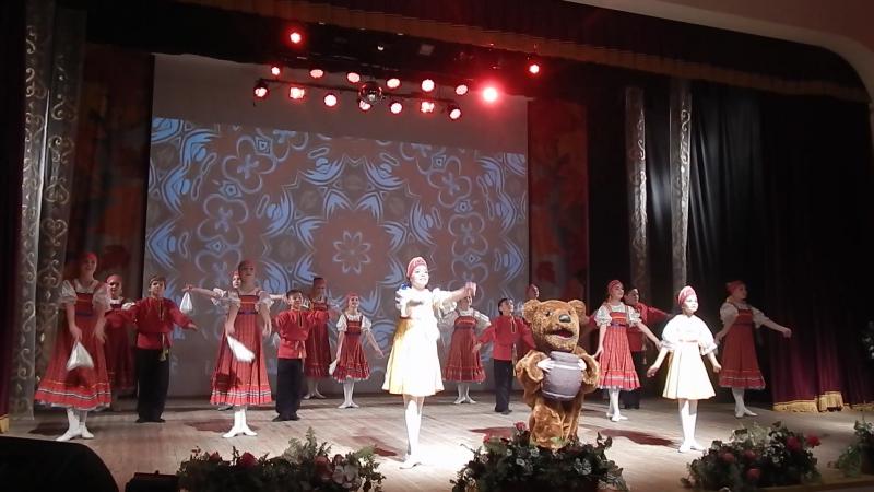 Выступление Ансамбля ДАРМАН, танец КАЛИНКА