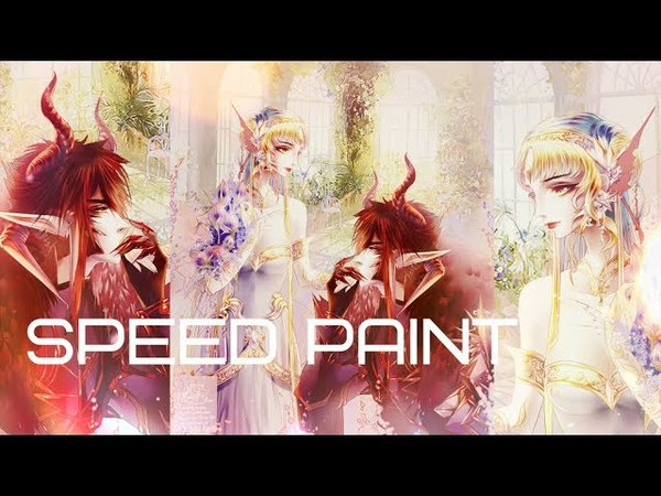 Art myoc Faira Star 【Speed Paint】 🎀 51 【速塗装】