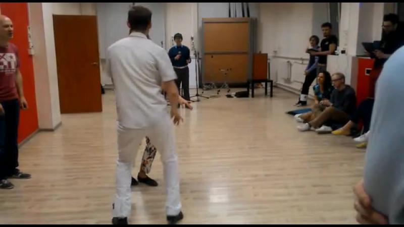 Maksim KochkinAnna Semchuk. Boogie-Woogie. Финал JJ Beginner. Осенний Jumping Fest 2017 г.Екатеринбург. 1 выход