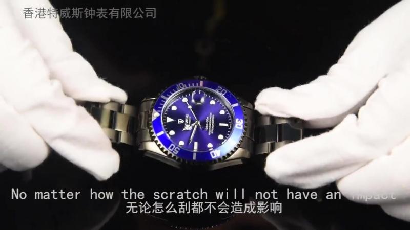 Aliexpress.com Comprar Caliente tevise hombres reloj mecánico automático fecha moda lujo Submariner reloj función deporte Relog