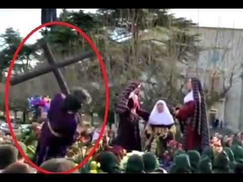 SEMANA SANTA ACCIDENTES 😁✞😁 CRISTOS Y SANTOS AL SUELO 😁 RECOPILACIONES 😁 DVL 93