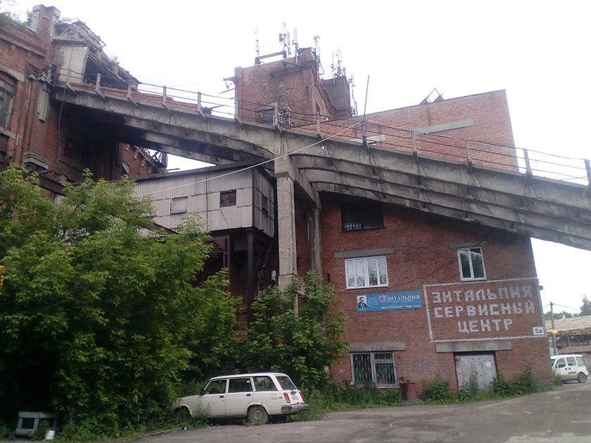 Полузаброшенный завод КУБА