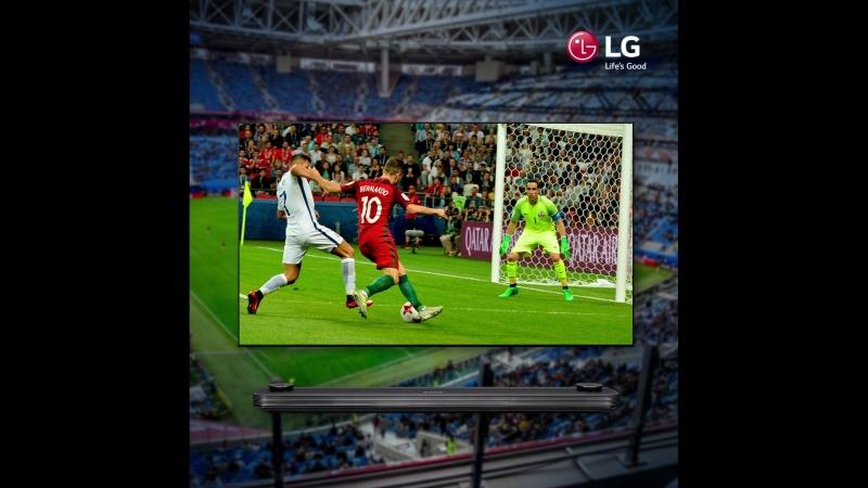 LG OLED TV - Чемпионат Мира по футболу