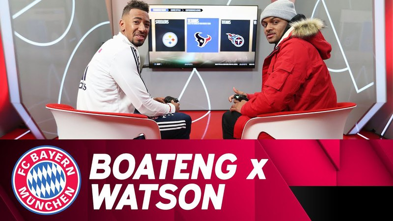 FIFA and Madden NFL w Jérôme Boateng NFL star Deshaun Watson | EA Sitdown
