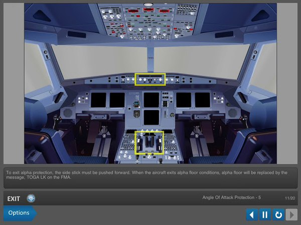 Airbus A320 CBT. Flight Controls. 05 - Pitch Normal Law Protections