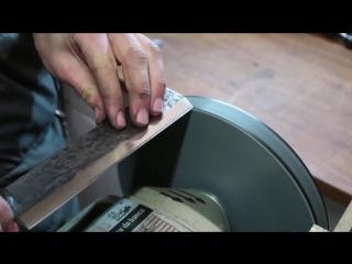 Knife Making_ Nakiri Japanese Knife DIY