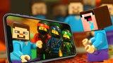 ТРОЛЛИНГ НУБика в LEGO Minecraft - Лего Мультики Майнкрафт - НУБ против ЗОМБИ и КРИПЕРОВ
