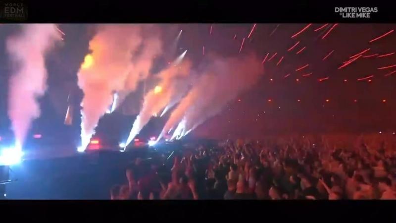 WW x Vini Vici - Chakra [Hardwell Dimitri Vegas Like Mike x Bringing The Madness]