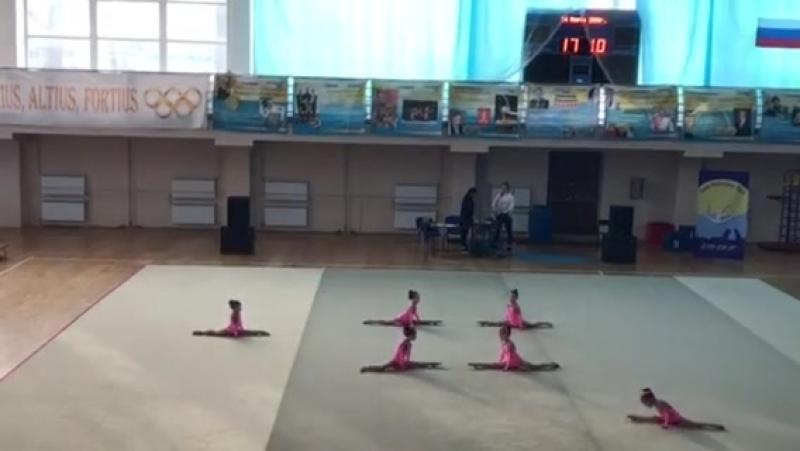 Клуб Эстетическиой гимнастики Сильвия наши Куколки 4-6 лет