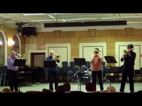 Bortnyansky sacred concerto 1 mvt. Bolshoi trombone quartet