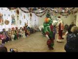 Утренник в саду. Клоун Бим-Бом, Дедушка Мороз. Восточный танец. (3)